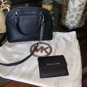 MK black crossbody